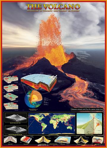 Puzzle Eurographics El Volcán de 1000 Piezas