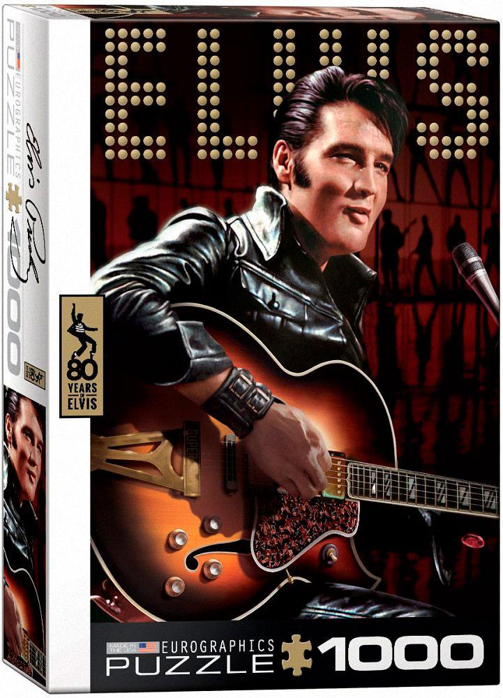 Puzzle Eurographics Elvis Presley Regreso Especial de 1000 Pieza