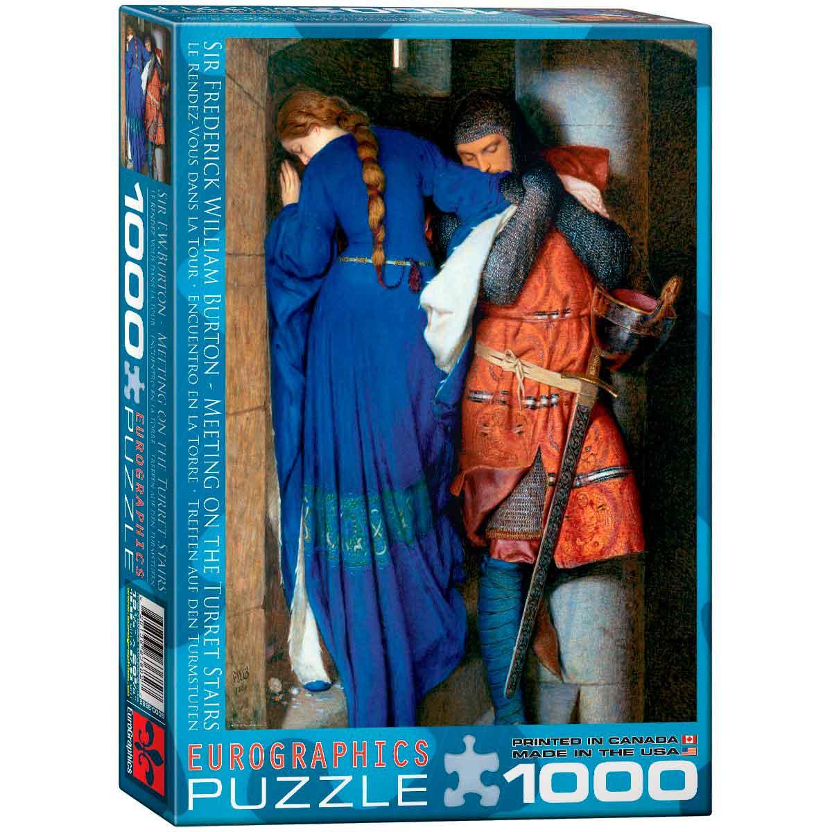 Puzzle Eurographics Encuentro en la Torre de 1000 Piezas