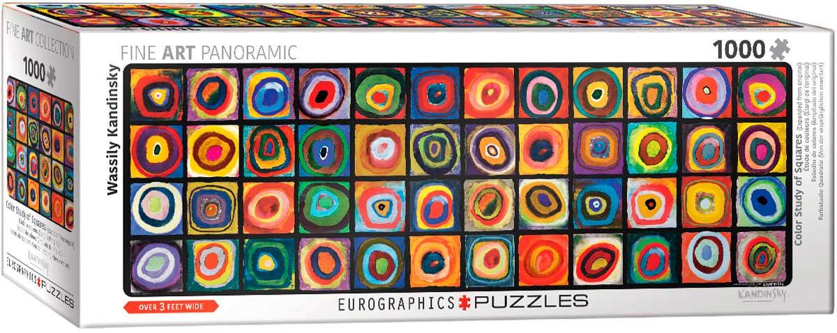 Puzzle Eurographics Estudio de Color con Cuadrados de 1000 Pzs