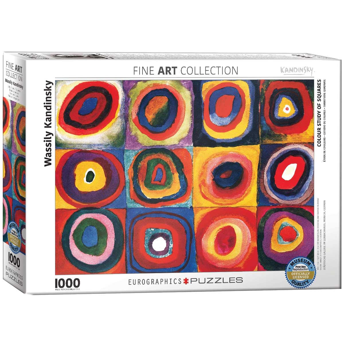 Puzzle Eurographics Estudio de Colores de 1000 Piezas