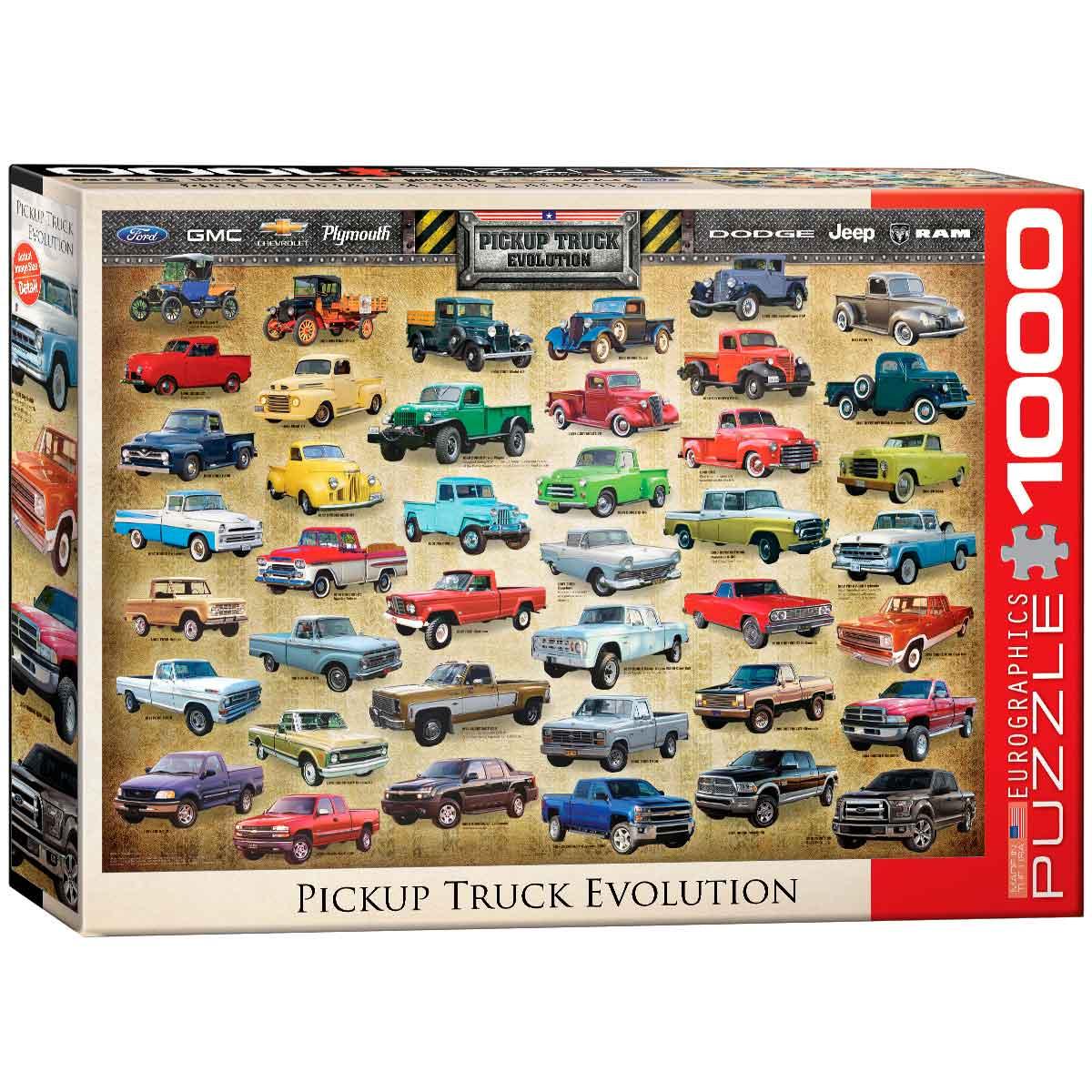 Puzzle Eurographics Evolución de la Pickup de 1000 Piezas