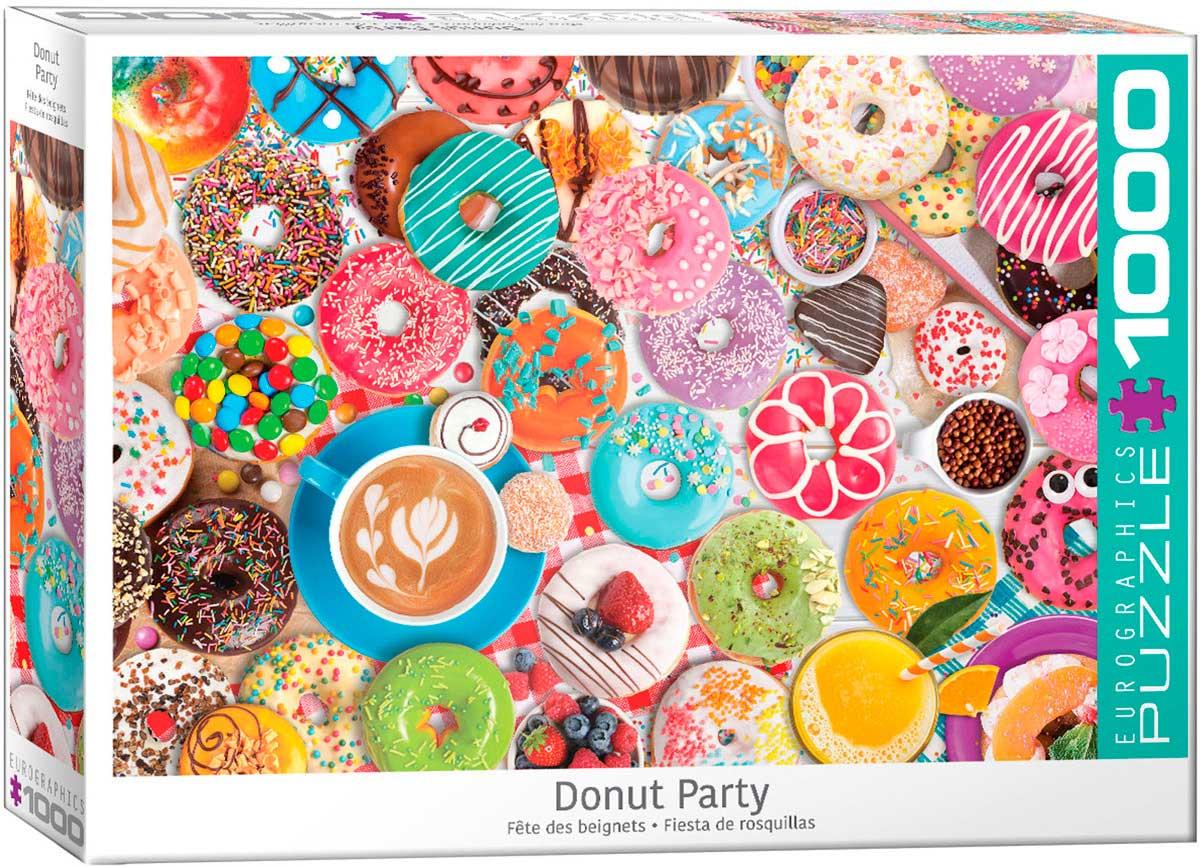 Puzzle Eurographics Fiesta de Donuts de 1000 Piezas
