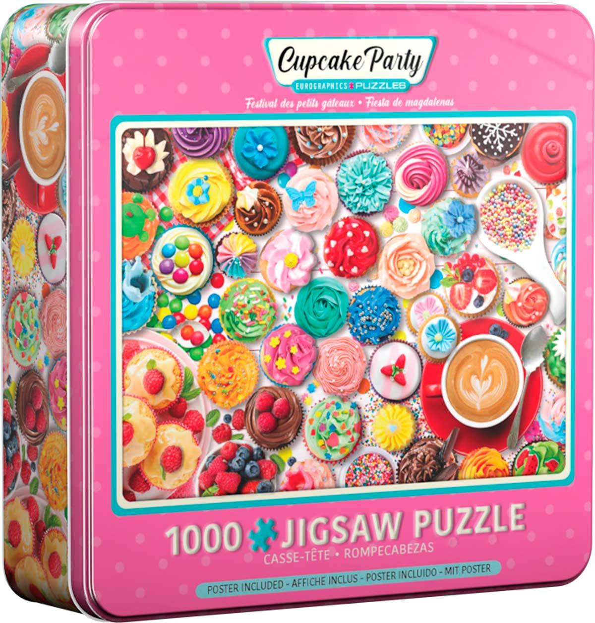 Puzzle Eurographics Fiesta de Magdalenas, Lata de 1000 Pzs