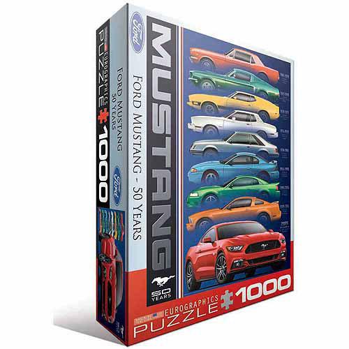Puzzle Eurographics Ford Mustang 50 Años de 1000 Piezas