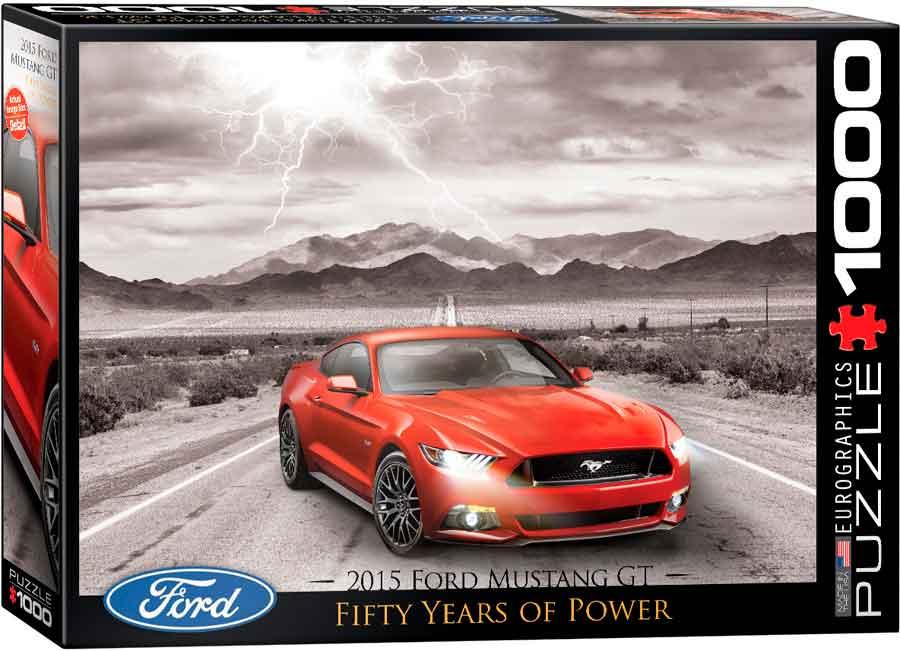 Puzzle Eurographics Ford Mustang GT 2015 de 1000 Piezas