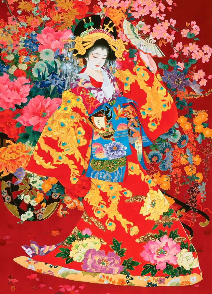 Puzzle Eurographics Geisha Agemaki de 1000 Piezas