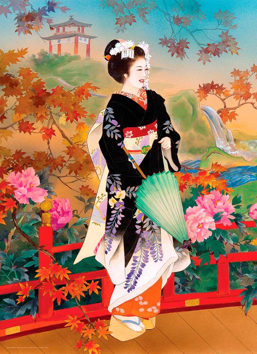 Puzzle Eurographics Geisha Higasa de 1000 Piezas