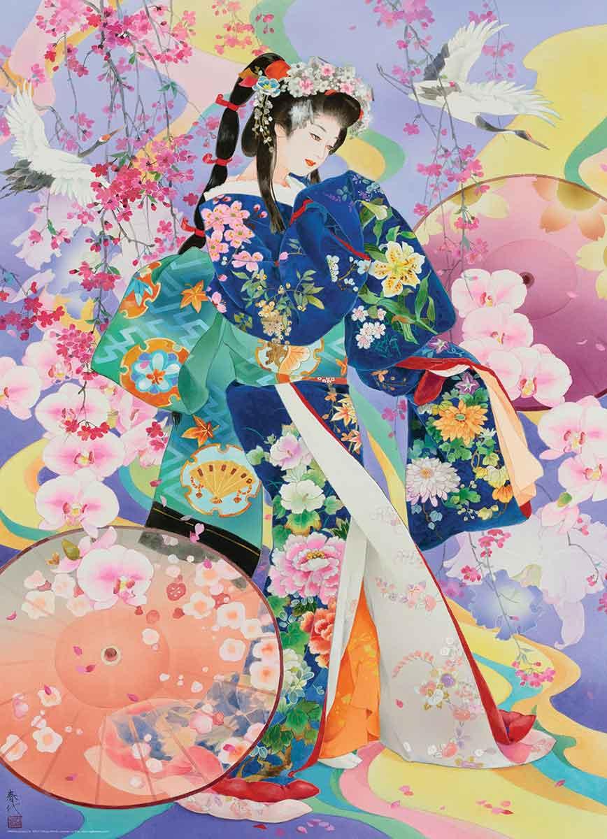 Puzzle Eurographics Geisha Seika de 1000 Piezas