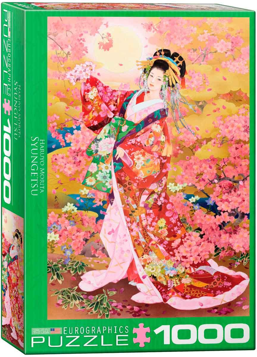 Puzzle Eurographics Geisha Syungetsu de 1000 Piezas