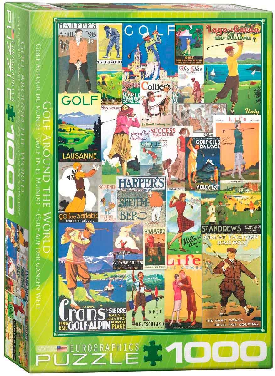 Puzzle Eurographics Golf en el Mundo de 1000 Piezas