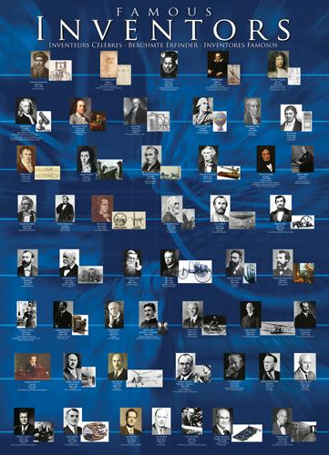 Puzzle Eurographics Inventores Famosos de 1000 Piezas