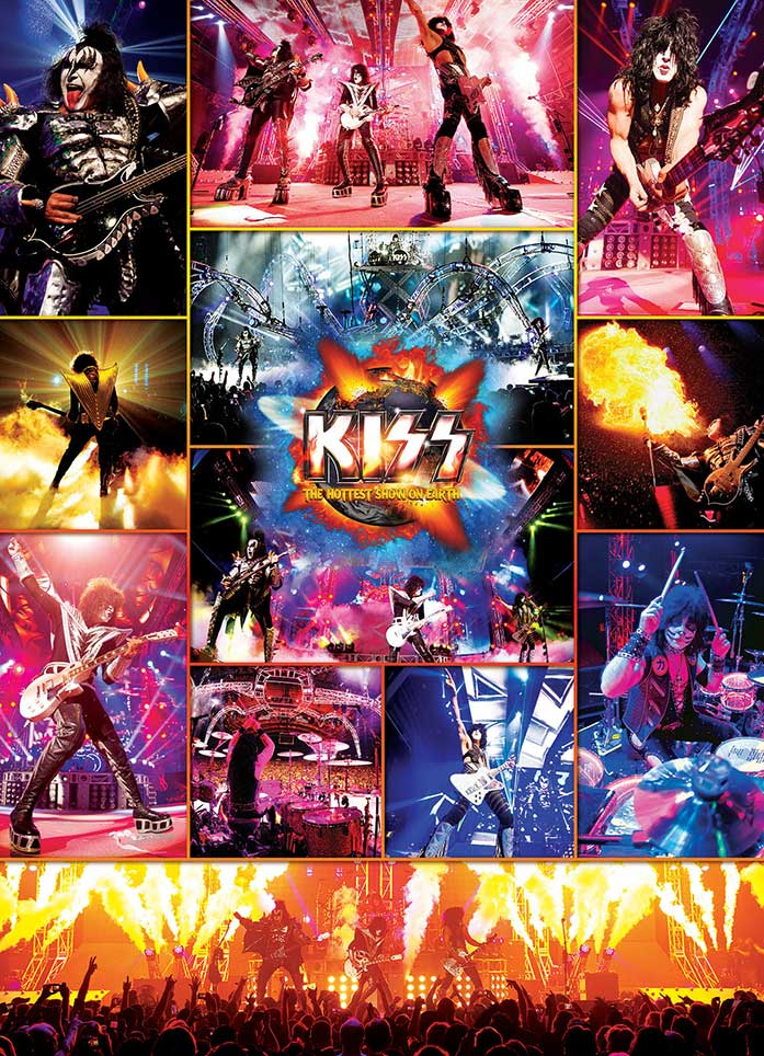 Puzzle Eurographics Kiss, The Hottest Show on Earth, de 1000 Pzs