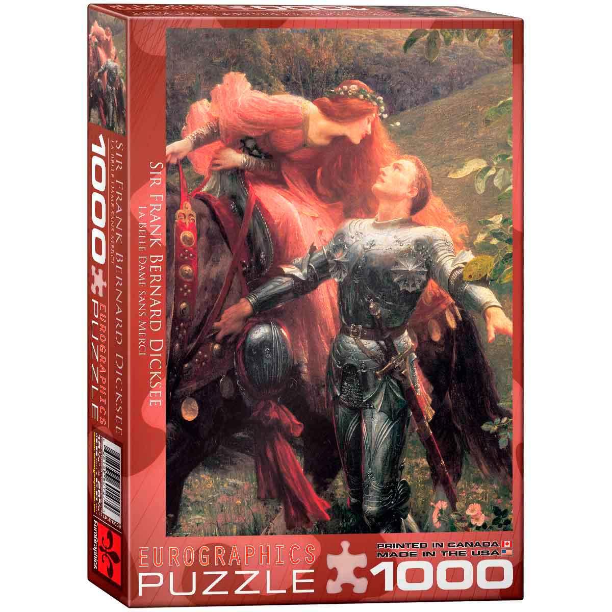 Puzzle Eurographics La Bella Dama de 1000 Piezas
