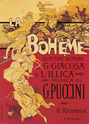 Puzzle Eurographics La Boheme (Puccini) de 1000 Piezas
