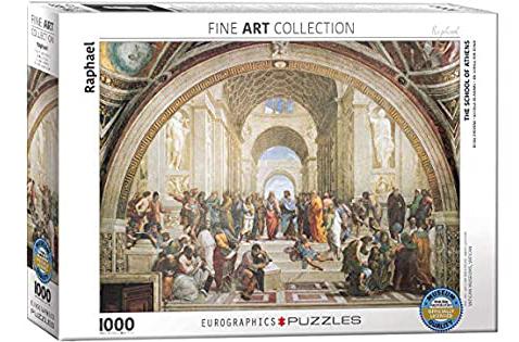 Puzzle Eurographics La Escuela de Atenas de 1000 Piezas