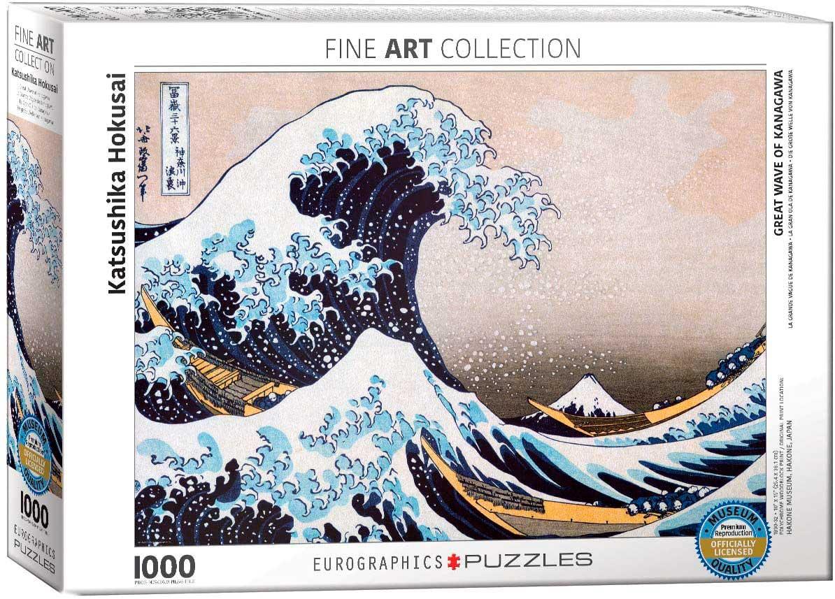 Puzzle Eurographics La Gran Ola de Kanagawa 1000 Piezas