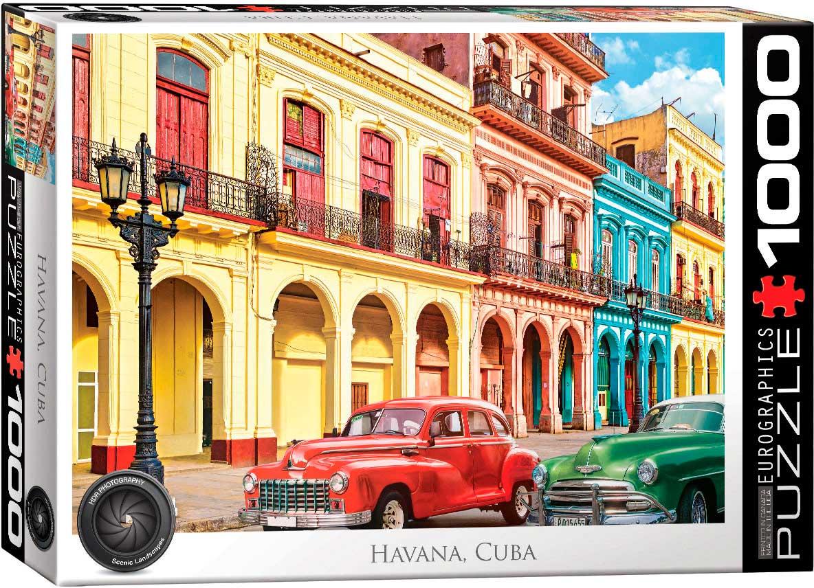 Puzzle Eurographics La Habana, Cuba de 1000 Piezas