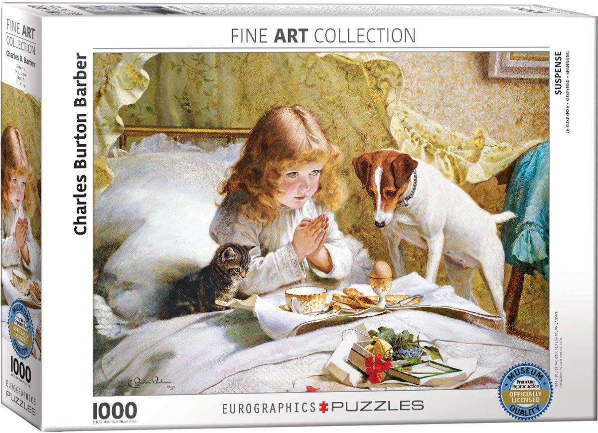 Puzzle Eurographics La Oración de 1000 Piezas