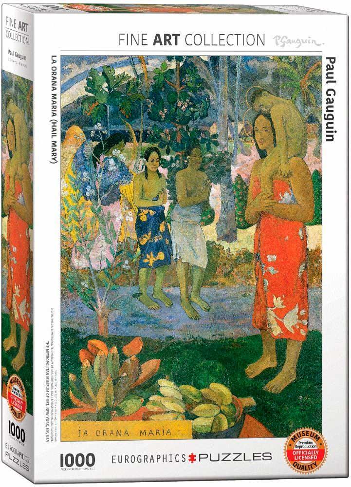 Puzzle Eurographics La Orana Maria (Hail Mary) de 1000 Piezas