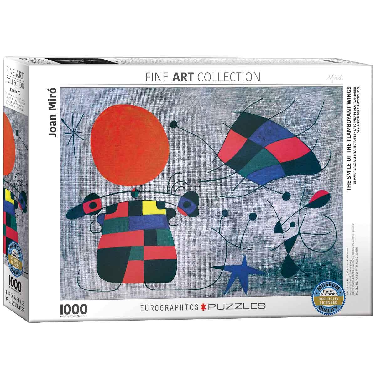 Puzzle Eurographics La Sonrisa de las Alas en Llamas, 1000 Pieza