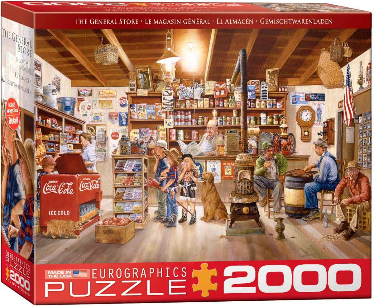 Puzzle Eurographics La Tienda de 2000 Piezas