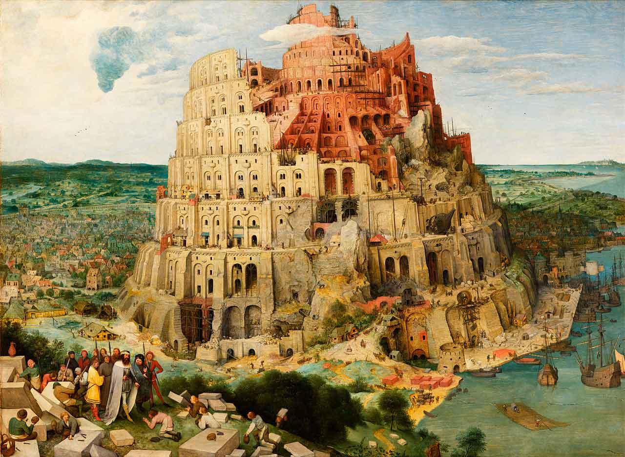 Puzzle Eurographics La Torre de Babel de 1000 Piezas