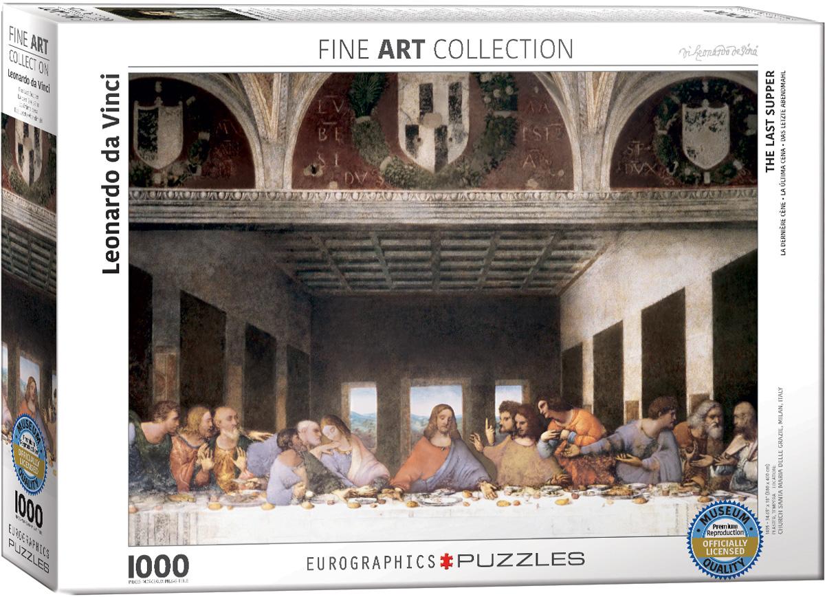 Puzzle Eurographics La Última Cena de 1000 Piezas