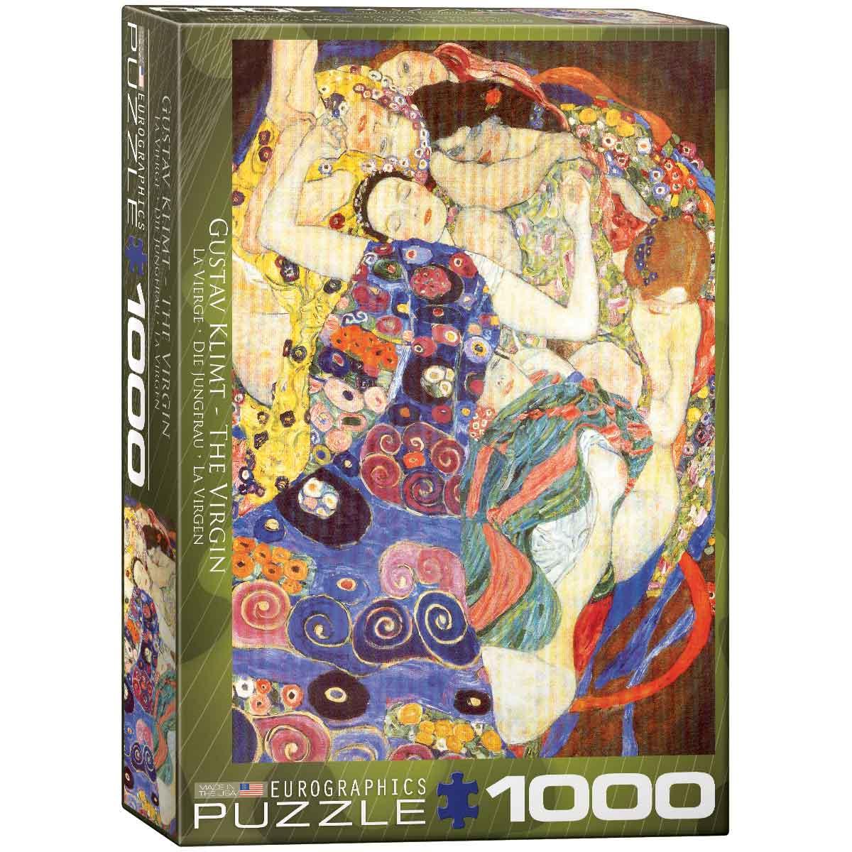 Puzzle Eurographics La Virgen de G. Klimt de 1000 Piezas