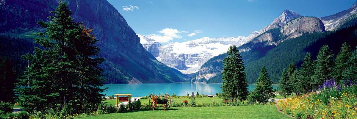 Puzzle Eurographics Lago Louise, Canadá de 1000 Piezas
