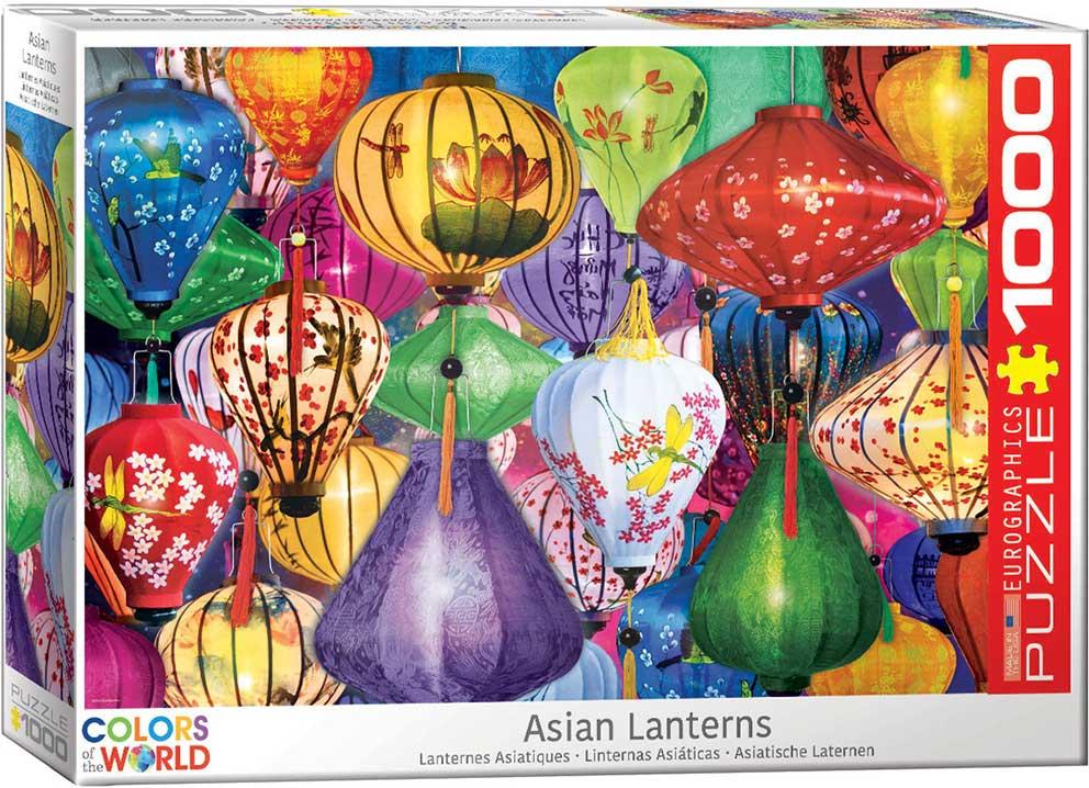 Puzzle Eurographics Lámparas Chinas de 1000 Piezas