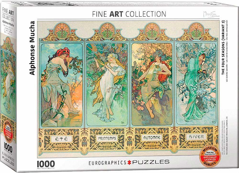 Puzzle Eurographics Las Cuatro Estaciones de 1000 Piezas