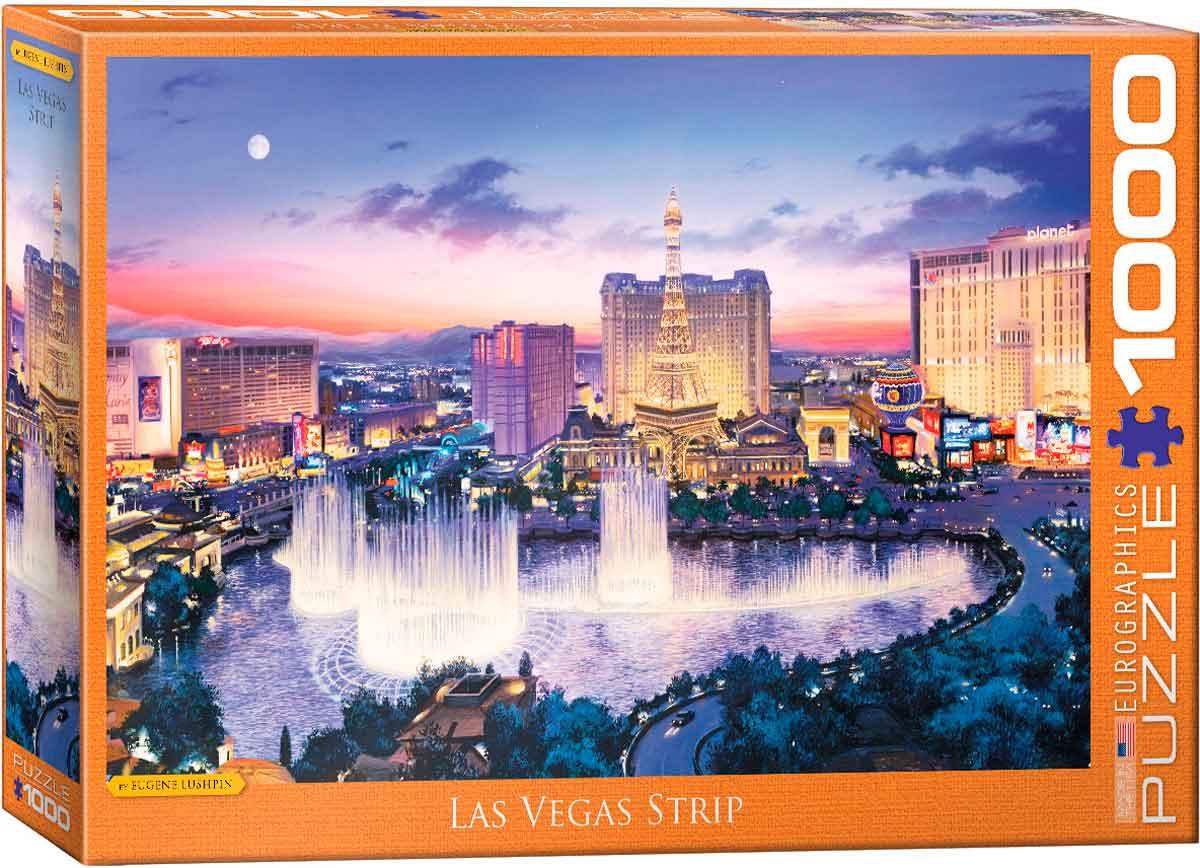 Puzzle Eurographics Las Vegas Strip de 1000 Piezas