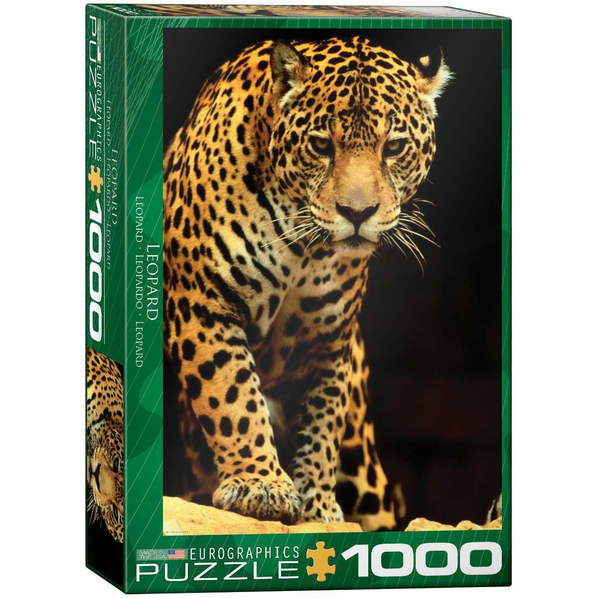 Puzzle Eurographics Leopardo de 1000 Piezas