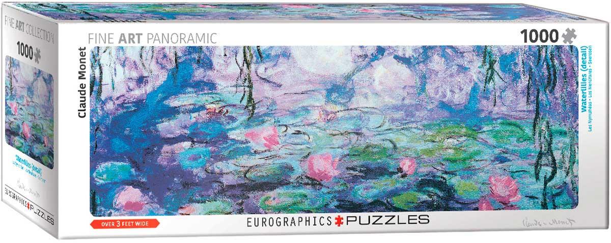 Puzzle Eurographics Los Nenúfares de 1000 Piezas