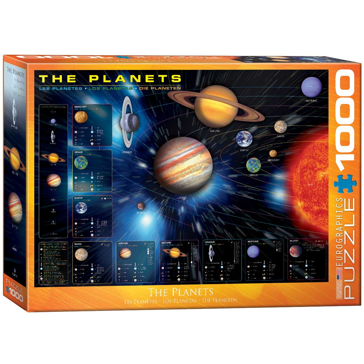 Puzzle Eurographics Los Planetas de 1000 Piezas