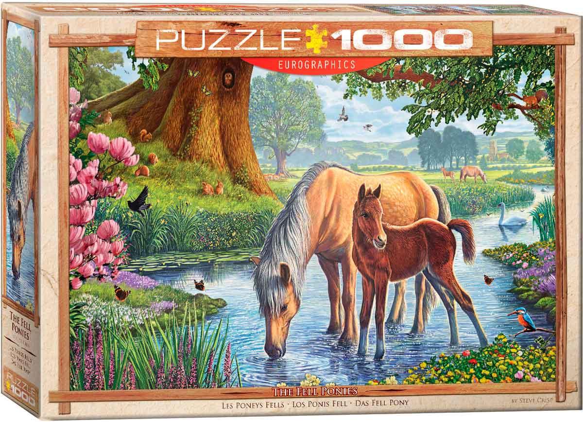 Puzzle Eurographics Los Ponis Fell de 1000 Piezas