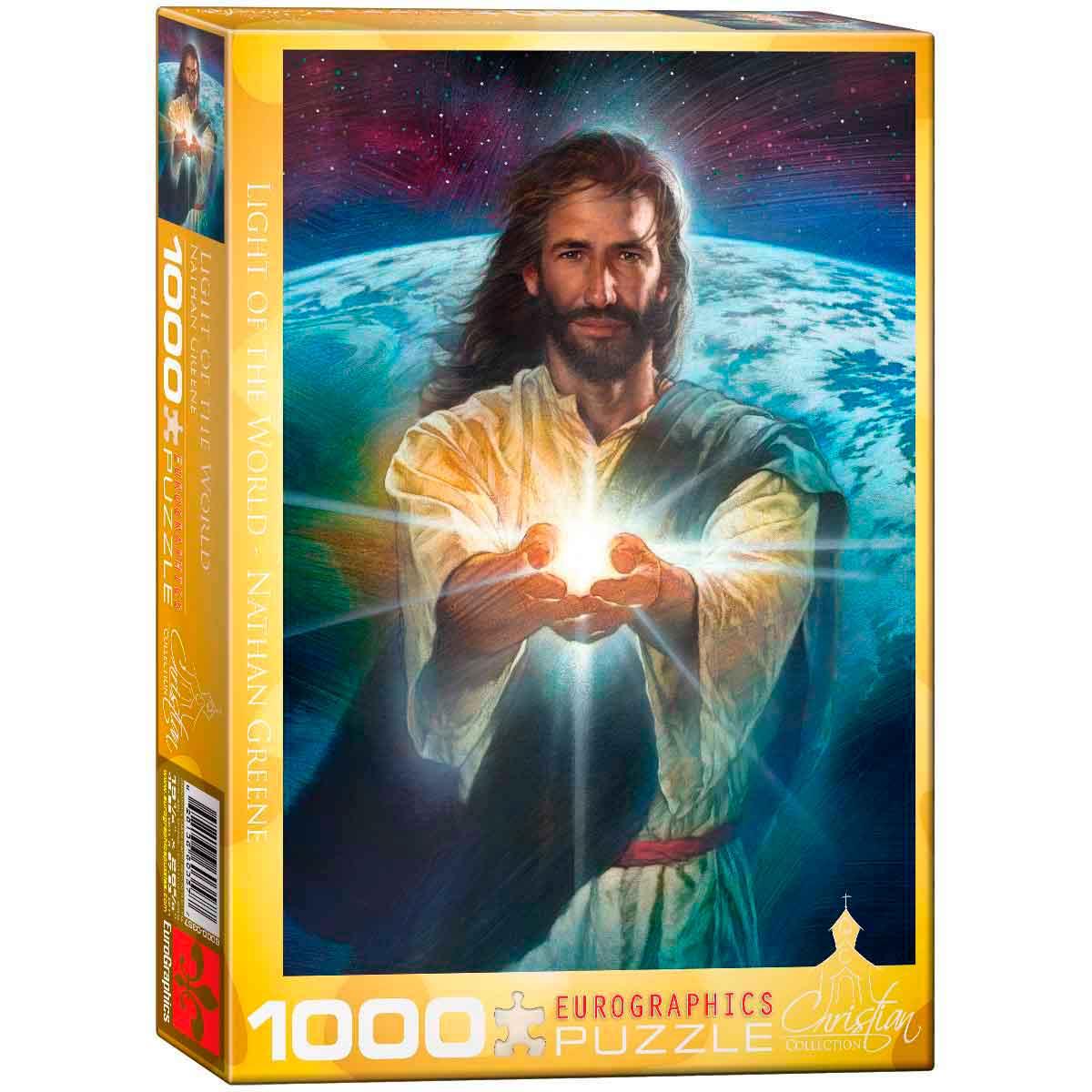 Puzzle Eurographics Luz del Mundo de 1000 Piezas
