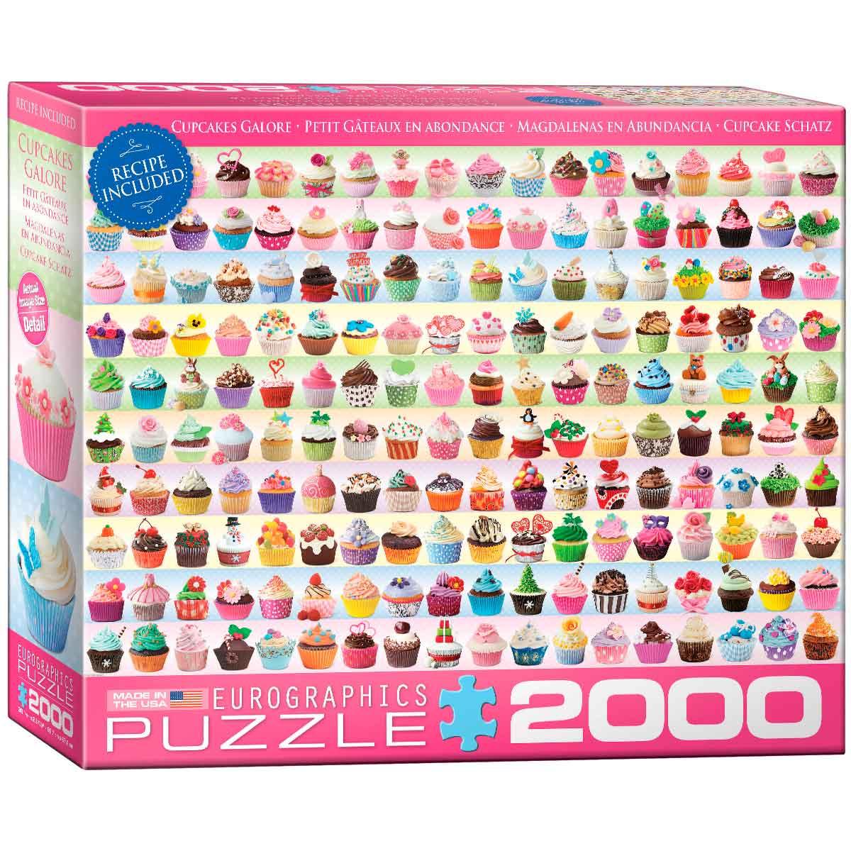 Puzzle Eurographics Magdalenas en Abundancia de 2000 Piezas
