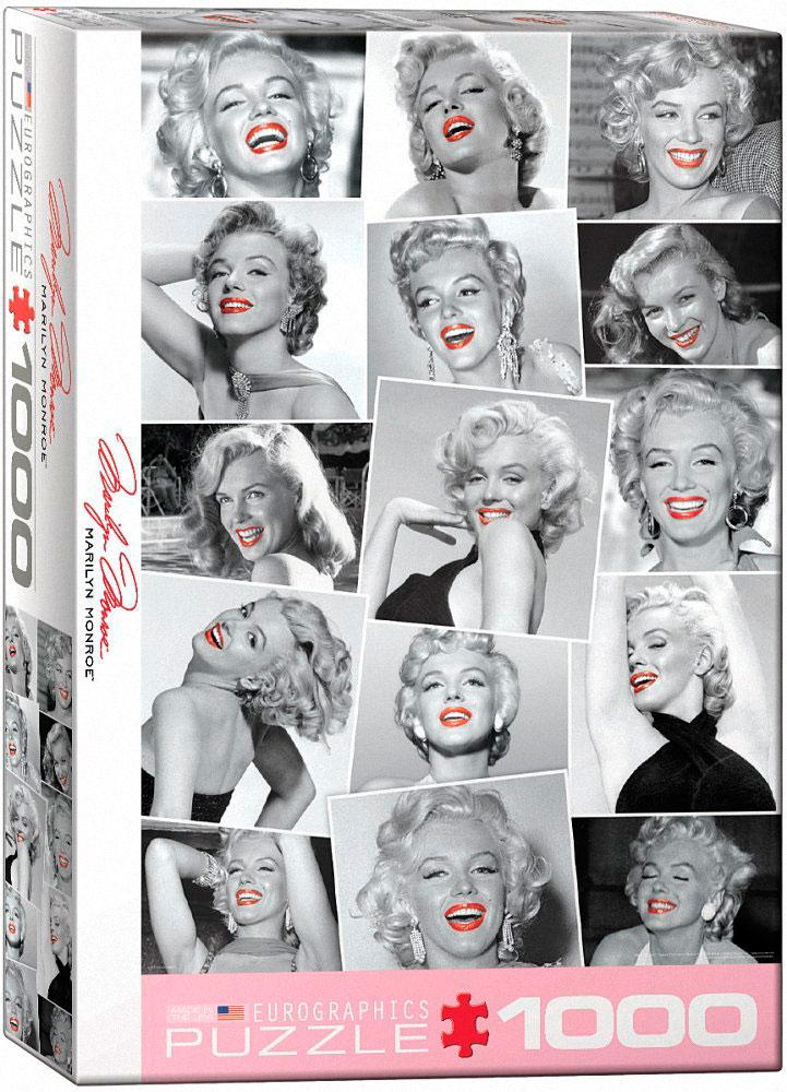 Puzzle Eurographics Marilyn Monroe Labios Rojos, 1000 Piezas