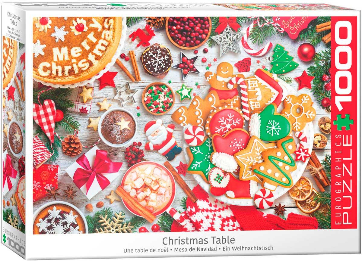 Puzzle Eurographics Mesa de Navidad de 1000 Piezas
