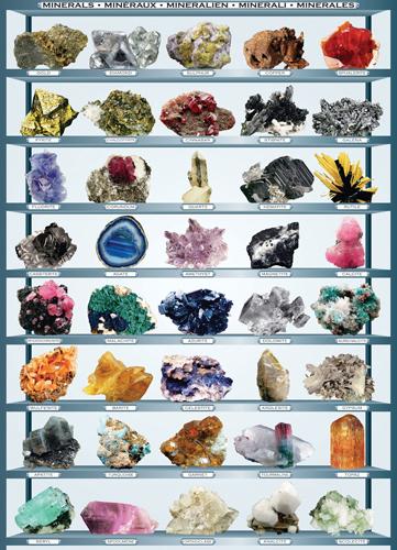 Puzzle Eurographics Minerales de 1000 Piezas