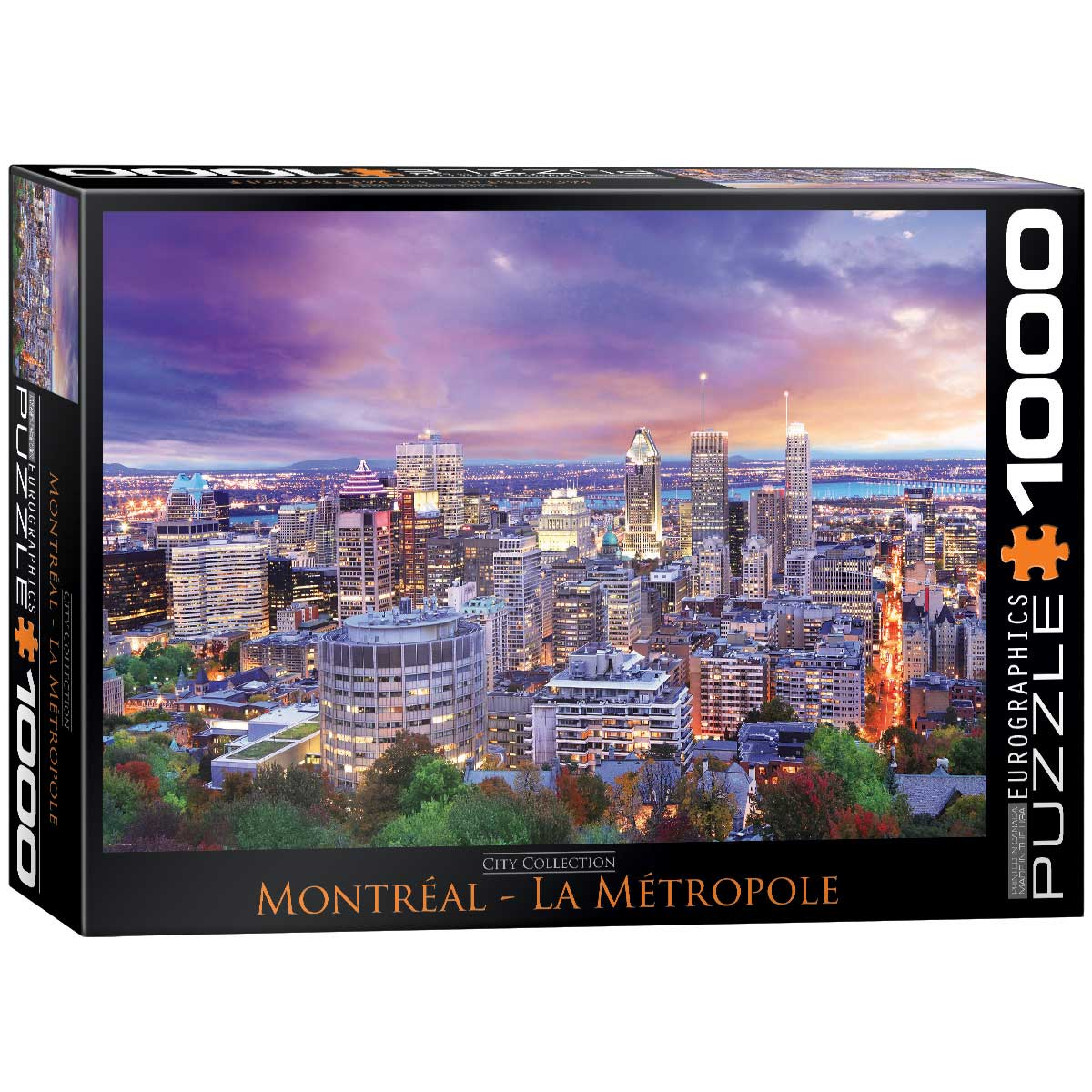 Puzzle Eurographics Montreal, La Metrópolis de 1000 Piezas