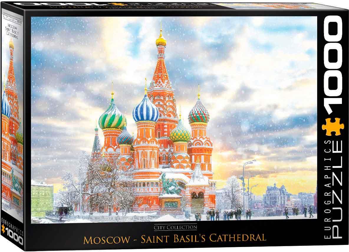 Puzzle Eurographics Moscú, Rusia de 1000 Piezas