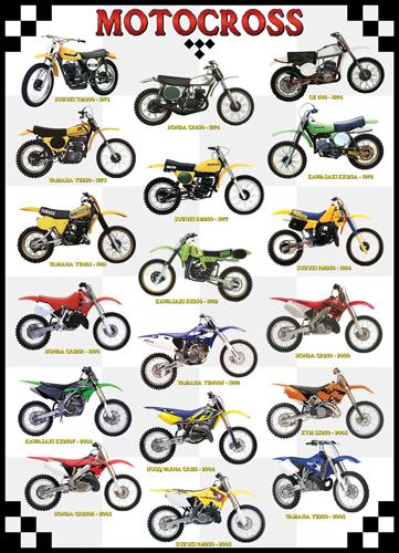 Puzzle Eurographics Motocross de 1000 Piezas