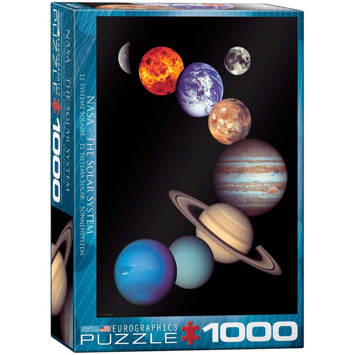 Puzzle Eurographics NASA El Sistema Solar de 1000 Piezas
