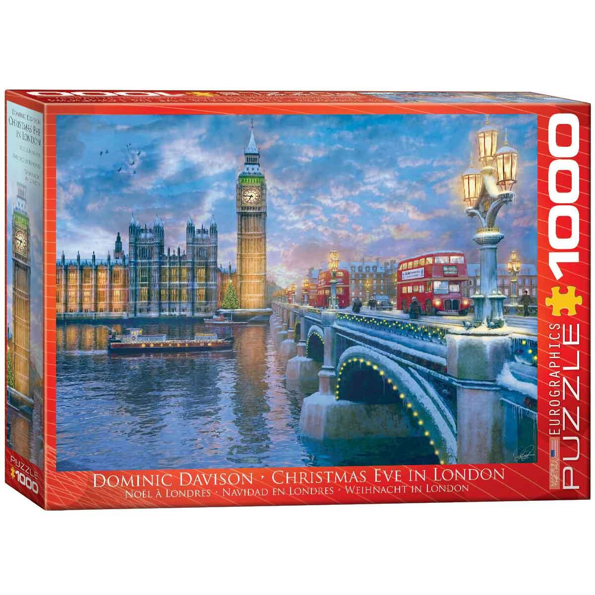 Puzzle Eurographics Nochebuena en Londres de 1000 Piezas