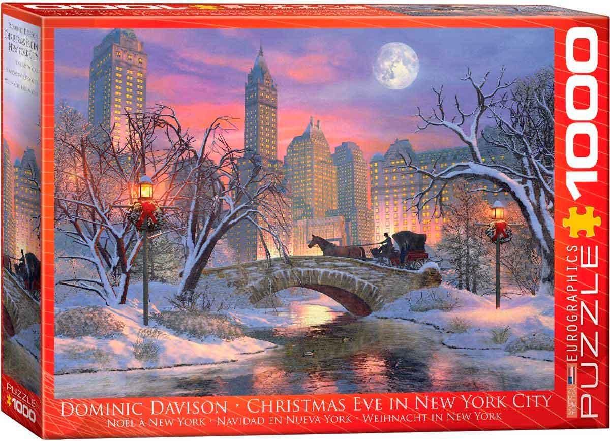Puzzle Eurographics Nochebuena en Nueva York de 1000 Piezas