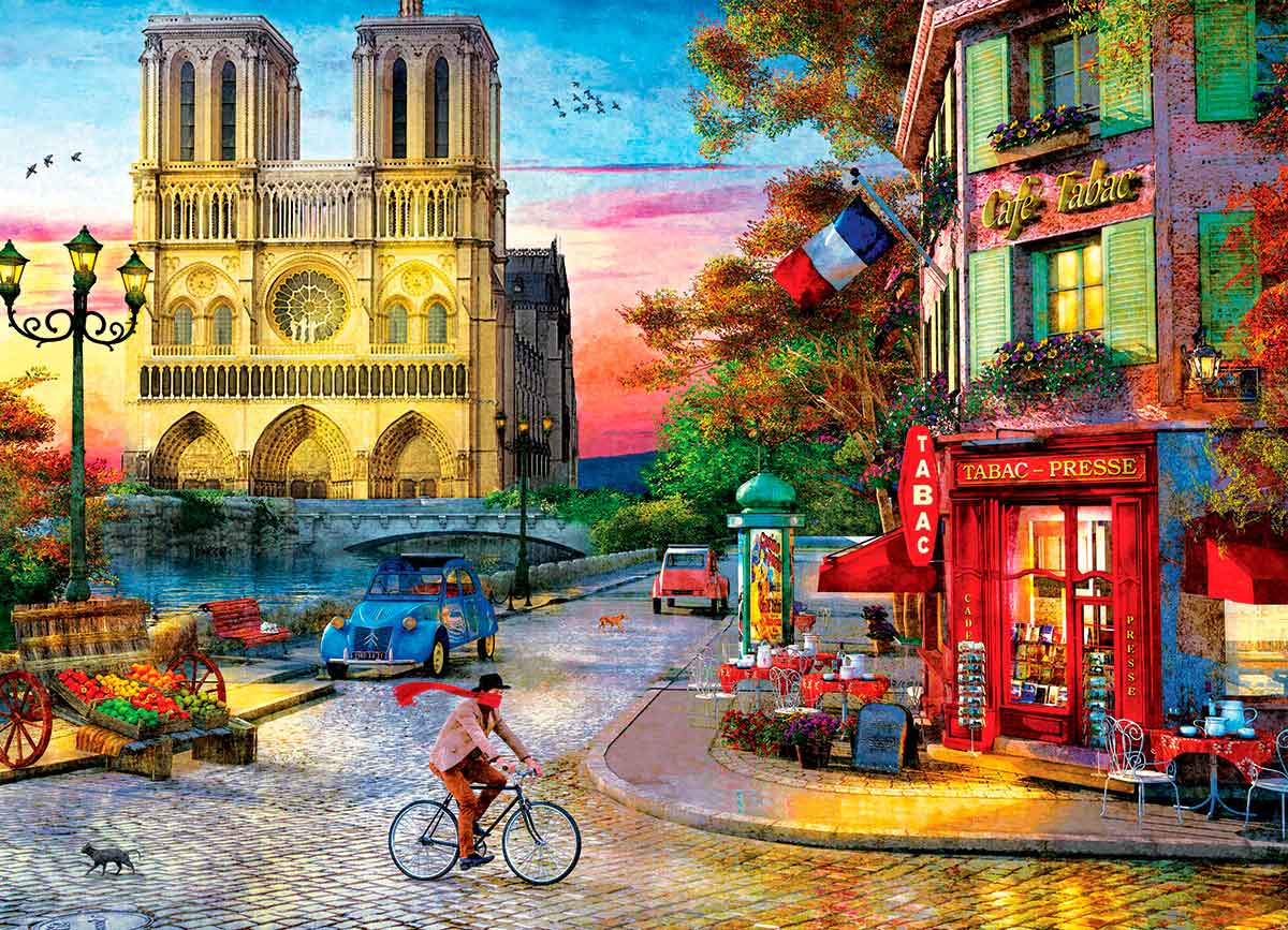 Puzzle Eurographics Notre Dame, París de 1000 Piezas