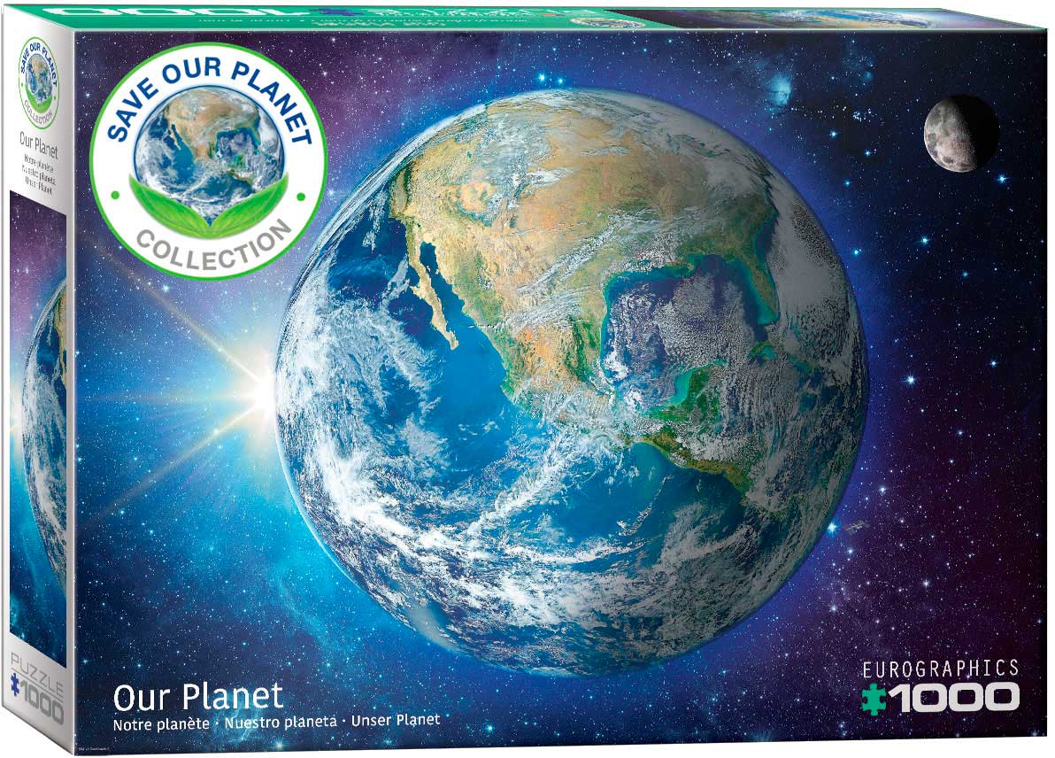 Puzzle Eurographics Nuestro Planeta de 1000 Piezas